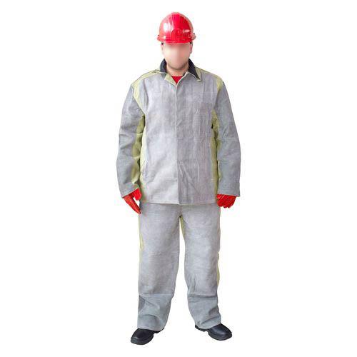 Защита от повышенных температур, Костюм сварщика спилковый с брезентом, артикул: ЗО-0009, фото 1