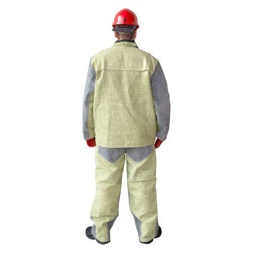 Защита от повышенных температур, Костюм сварщика спилковый с брезентом, артикул: ЗО-0009, фото 2