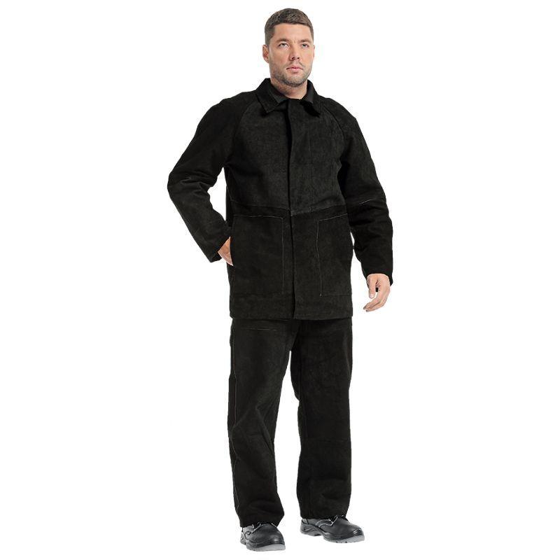 Защита от повышенных температур, Костюм сварщика спилковый, артикул: ЗО-0028